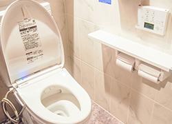 断水復旧後トイレをすぐに流さない